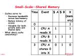 small scale shared memory