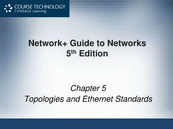 network guide to networks 5 th edition n.