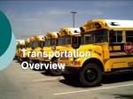 transportation overview