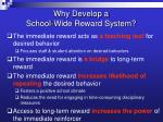 why develop a school wide reward system1