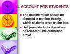 8 account for students
