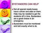 bystanders can help