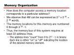 memory organization1