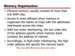 memory organization2