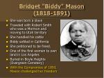 bridget biddy mason 1818 1891