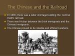 the chinese and the railroad