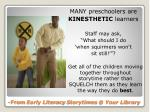 from early literacy storytimes @ your library