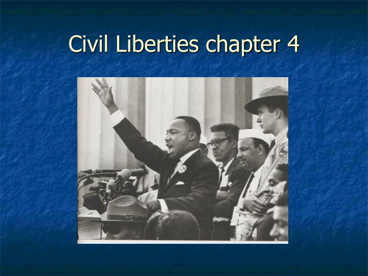civil liberties chapter 4 n.
