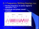 5 1 frequency shifting keying fsk