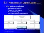 5 1 modulation of digital signals cont
