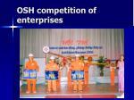 osh competition of enterprises