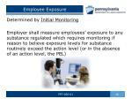 employee exposure