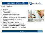 hazardous chemicals