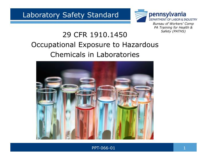 laboratory safety standard n.