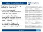 medical consultation exam