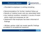 physician s opinion
