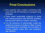 final conclusions1