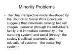 minority problems2