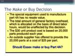 the make or buy decision1