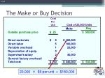 the make or buy decision2