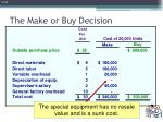 the make or buy decision3