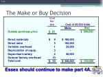 the make or buy decision5