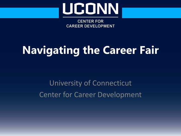 university of connecticut center for career development n.