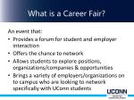 what is a career fair