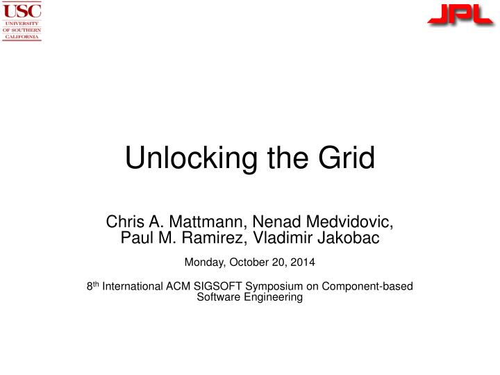 unlocking the grid n.