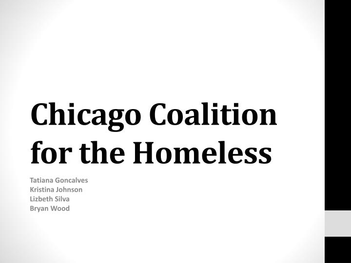 chicago coalition for the homeless n.