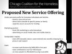 proposed new service offering