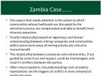 zambia case