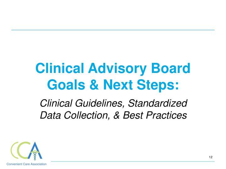 Clinical Advisory Board