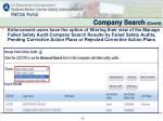 company search cont d2