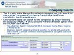 company search1