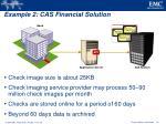 example 2 cas financial solution