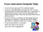 if you need some computer help