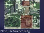 new life science bldg