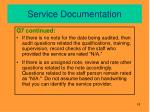 service documentation3