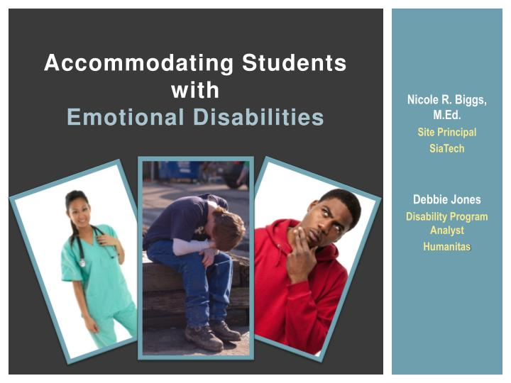 accommodating students with emotional disabilities n.