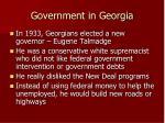 government in georgia