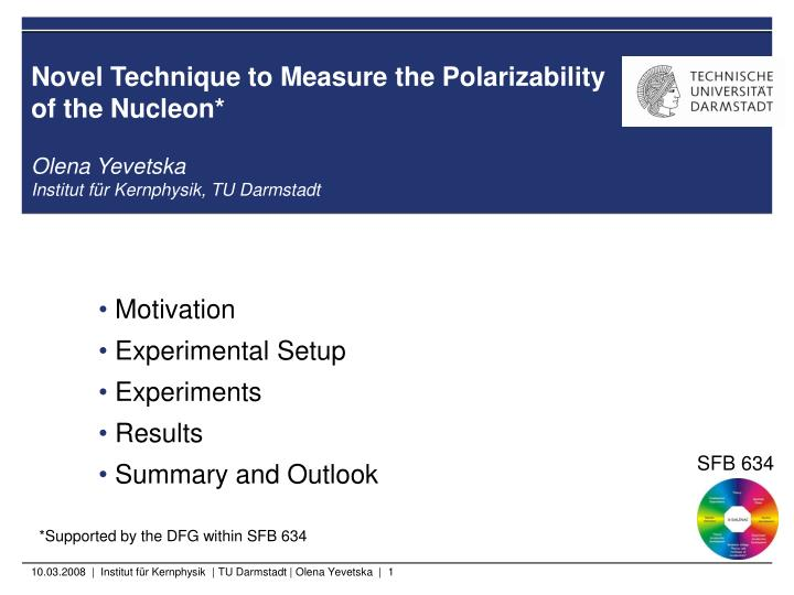 novel technique to measure the polarizability of the nucleon n.