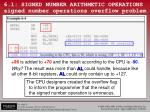 6 1 signed number arithmetic operations signed number operations overflow problem1