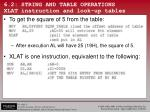 6 2 string and table operations xlat instruction and look up tables1