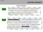 fuentes metodo 9