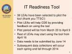 it readiness tool1