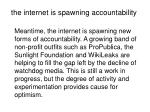 the internet is spawning accountability
