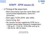 staff efw issues 2