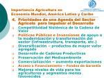 importancia agricultura en econom a mundial am rica latina y caribe