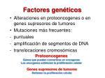 factores gen ticos